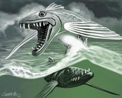 Flying Barracuda by CharReed