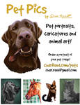 Pet Pics by Char Reed Illustration by CharReed