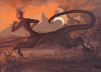 Running Andalite by CharReed