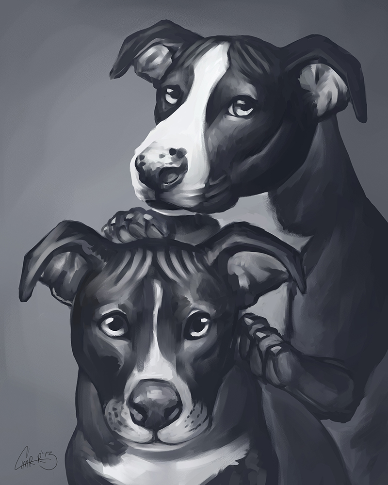 Major Payne Pups by CharReed