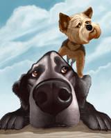 Doug and Heidi by CharReed