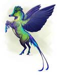 Violet-Tailed Sylph Pegasus