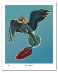 Red Tail Pegasus Print (Limited Edition)