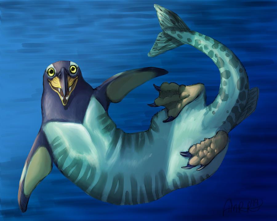 MishMash Creature Crash: Otter, Penguin, Pike by CharReed