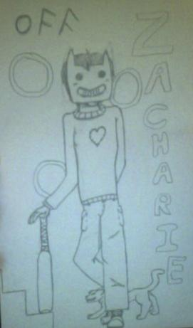 Zacharie-OFF (Hand drawn) by Sexy-Slender-Dragon