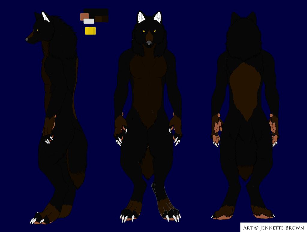 Wolf ref by Sexy-Slender-Dragon