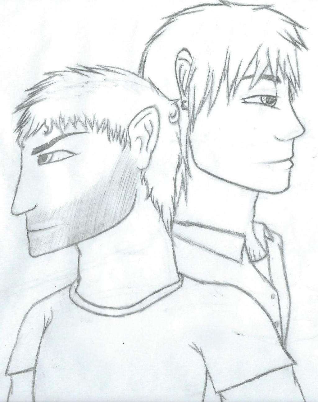 Jack and Damen by Sexy-Slender-Dragon