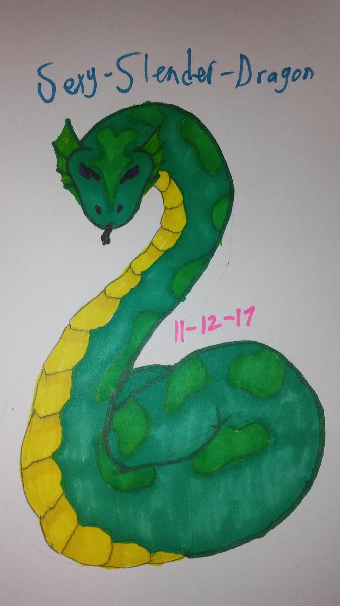 Ark titanoboa by Sexy-Slender-Dragon