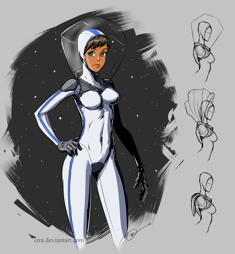 Space suit concept by IZRA