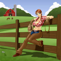 Cowgirl- comm by IZRA