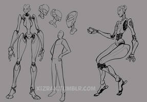 robot designs by IZRA