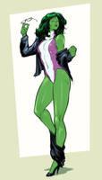 She hulk - comm by IZRA