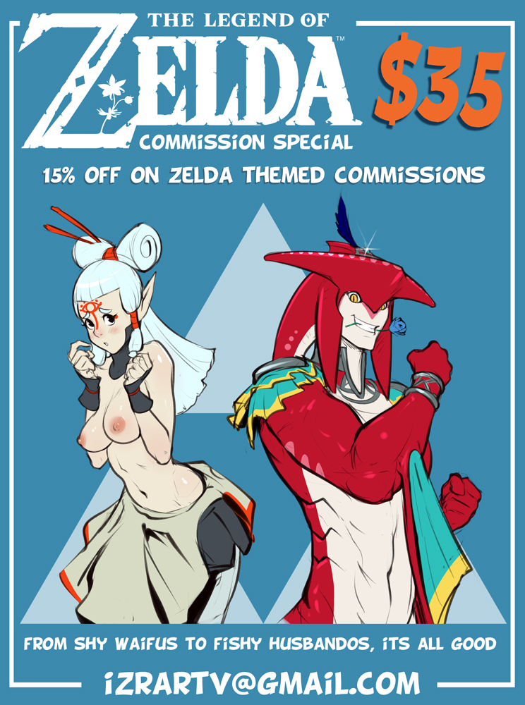 The Legend of Zelda COMMISSION SPECIAl by IZRA
