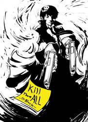 Agent Black by IZRA