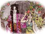 Hades + Persephone POMEGRANATE