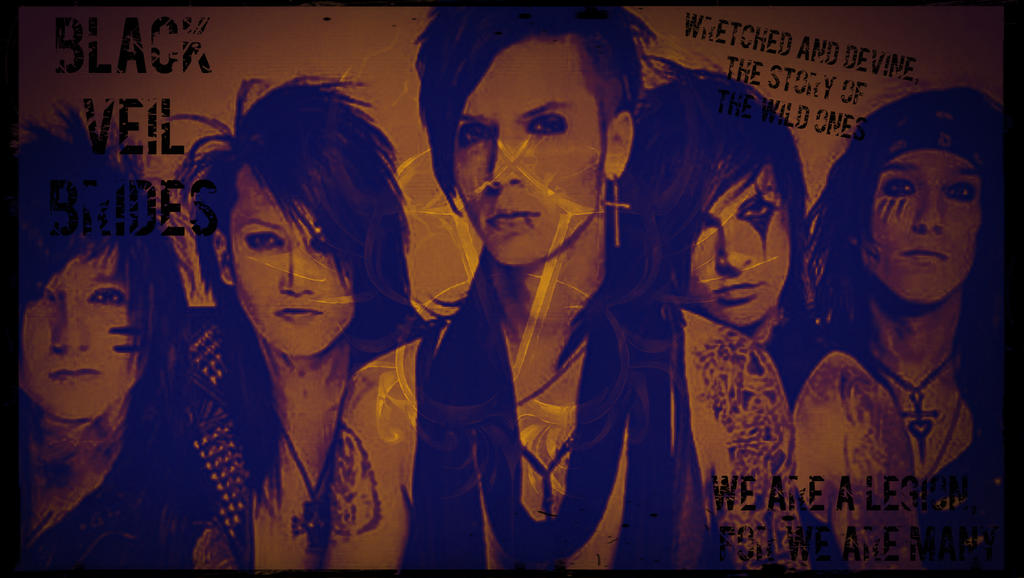 Black Veil Brides In The End Wallpaper Black Veil Brides Wallpaper by