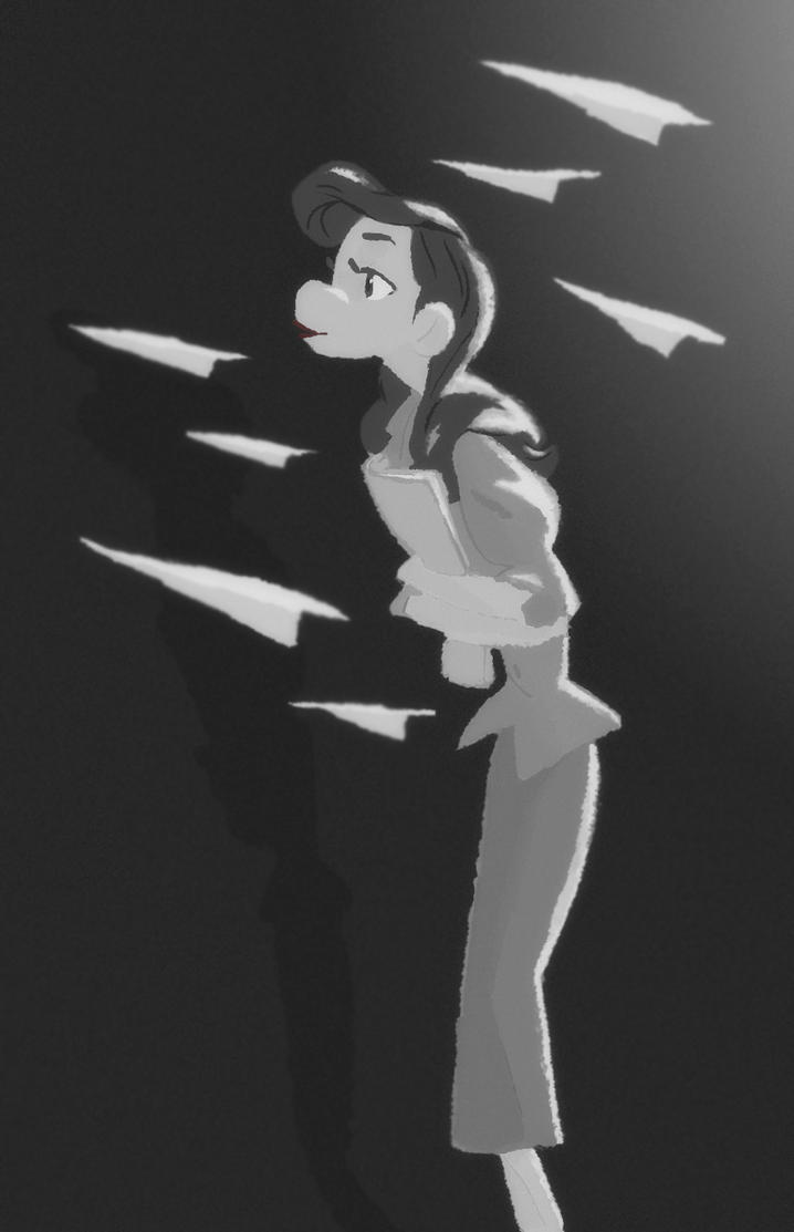 paperman by rikkitikki