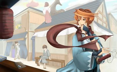 The Vagrancy of Okita Souji