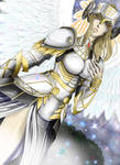 Hrist the valkyrie: in white