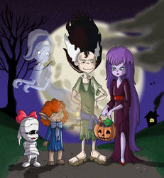 Going trick or treating!! by akilight