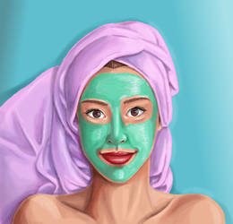 Clay mask by akilight