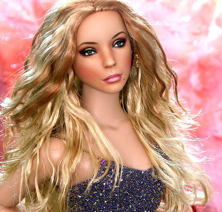 Doll Repainted As Mariah Carey By Noeling On Deviantart