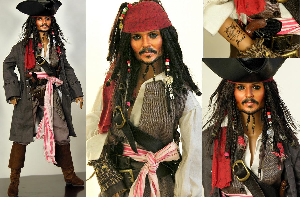 My newest Jack Sparrow repaint by noeling