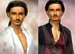 Doll Repainted as Will Turner