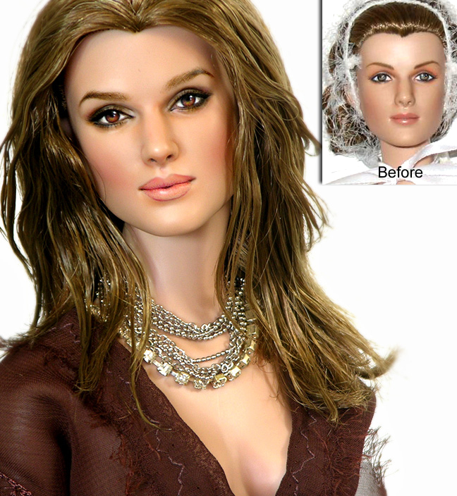 Doll Repaint - Keira Knightley