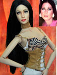 Doll Repainted as Young Cher by noeling