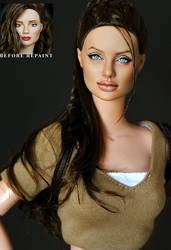 Repaint Angelina Jolie as Lara by noeling