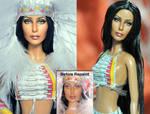 Mattel Doll Repaint - Cher