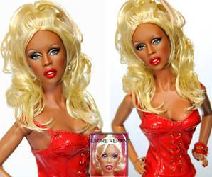 Custom Doll Repaint- RUPAUL