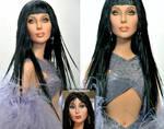 Mattel Doll- Repainted Cher