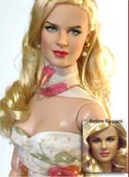 Doll Repaint - Nicole Kidman by noeling