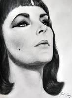 Elizabeth Taylor - Cleopatra by noeling
