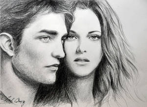 Robert and Kristen in Twilight