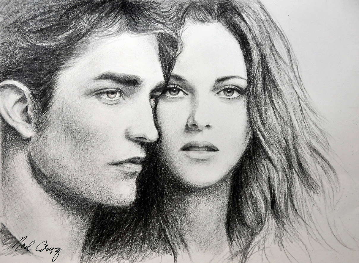 Robert and Kristen in Twilight by noeling