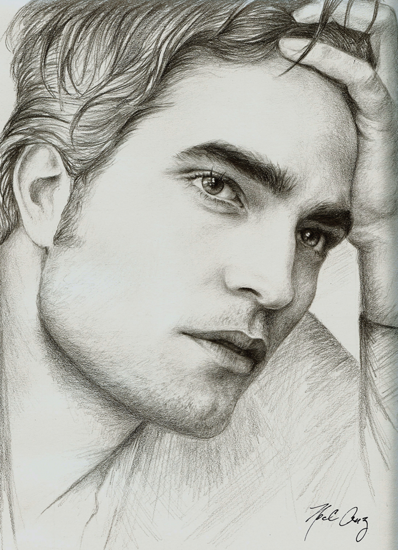 Twilight Star Robert Pattinson by noeling