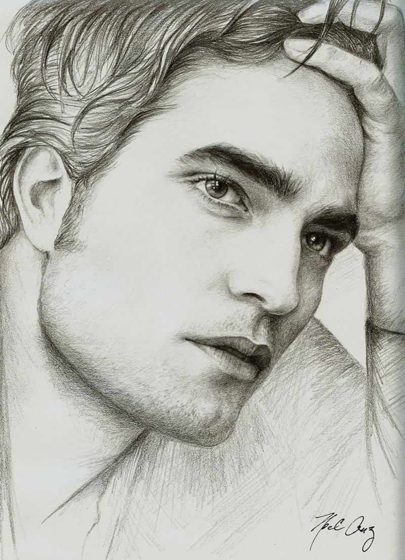 Twilight Star Robert Pattinson by noeling