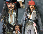 doll repaint - Jack Sparrow