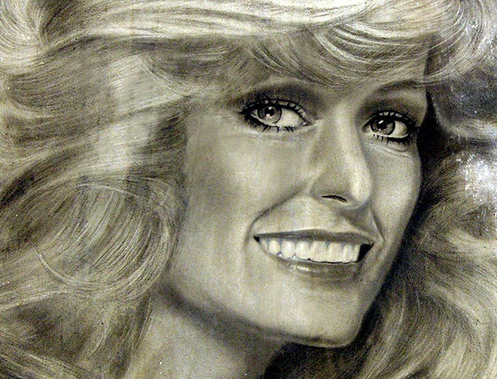 Farrah Detail  - Tribute by noeling
