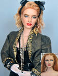 Doll Repaint of 1980s Madonna