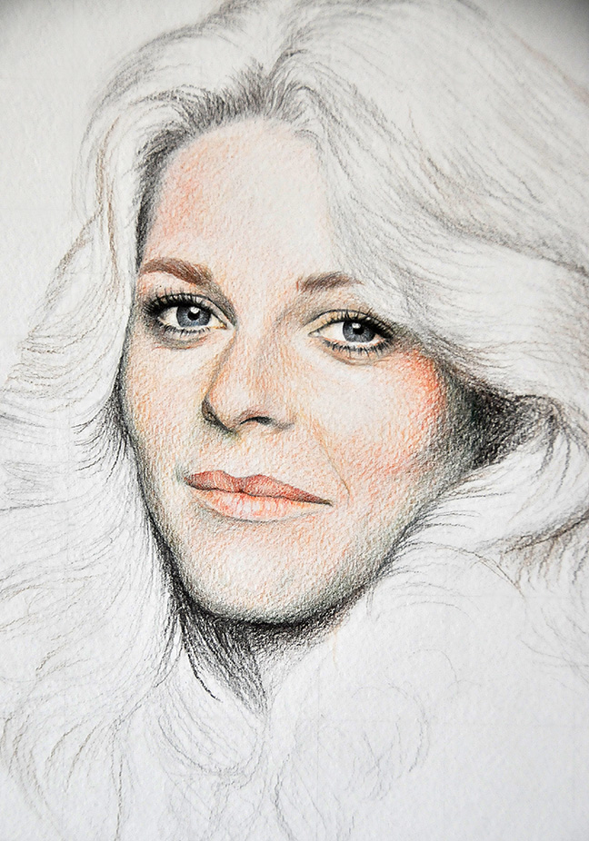 Lindsay Wagner   unfinished by noeling
