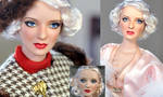 Doll Repaint -  Bette Davis