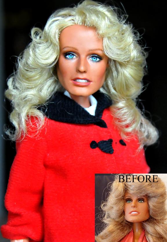 Doll Tribute - Farrah Fawcett by noeling