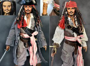 repaint doll - Jack Sparrow