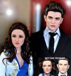 Twilight dolls Bella n Edward