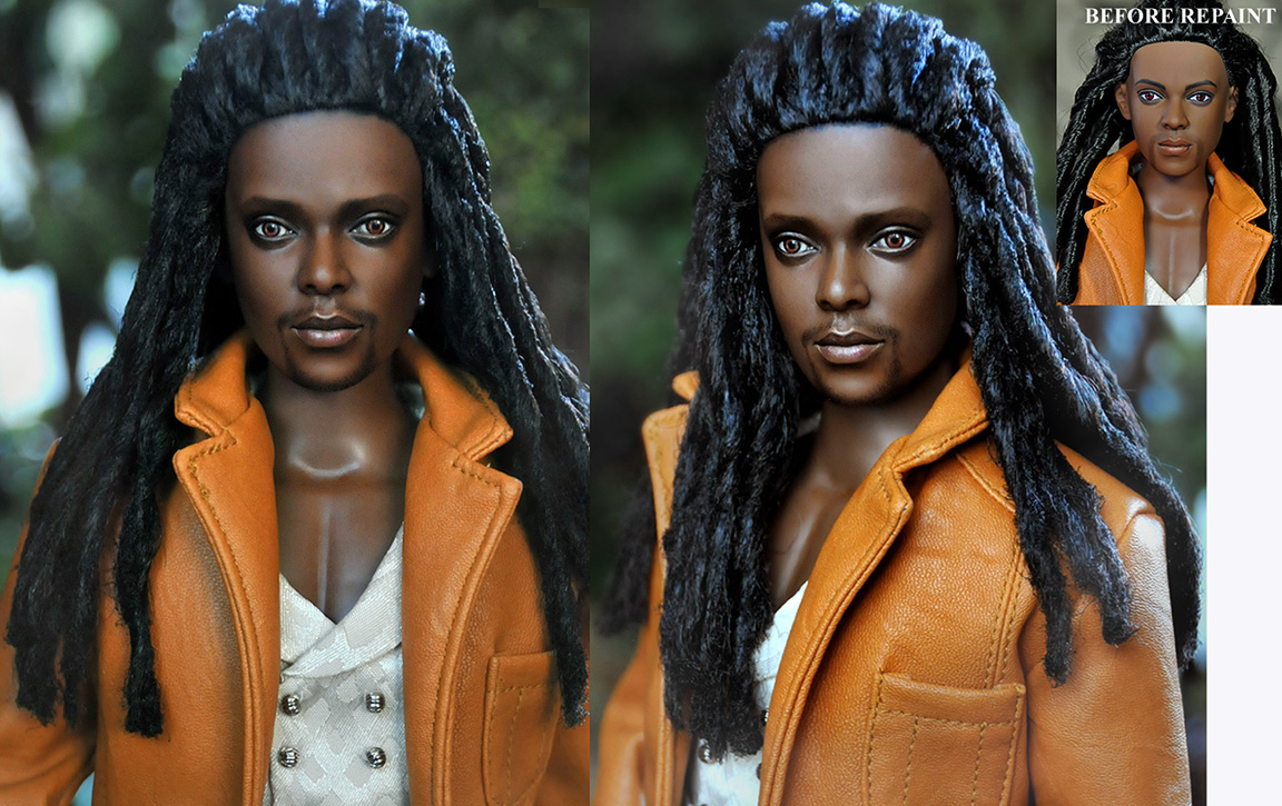 Doll Repaint Twilight Laurent by noeling