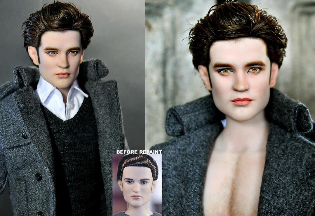 New Moon Edward Cullen doll by noeling